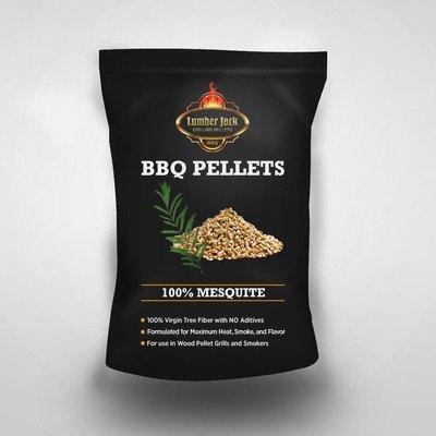 100% Mesquite Lumber Jack BBQ Pellets