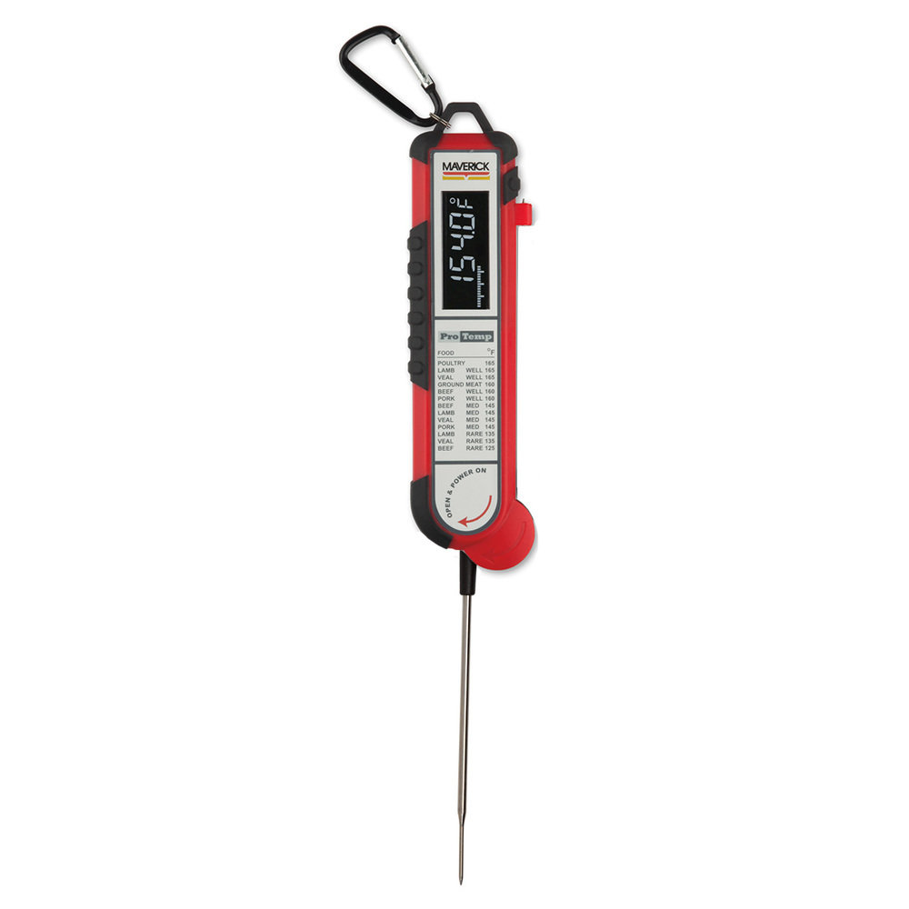 Maverick PT-100 (Red) - Pro-temp Meat Thermometer