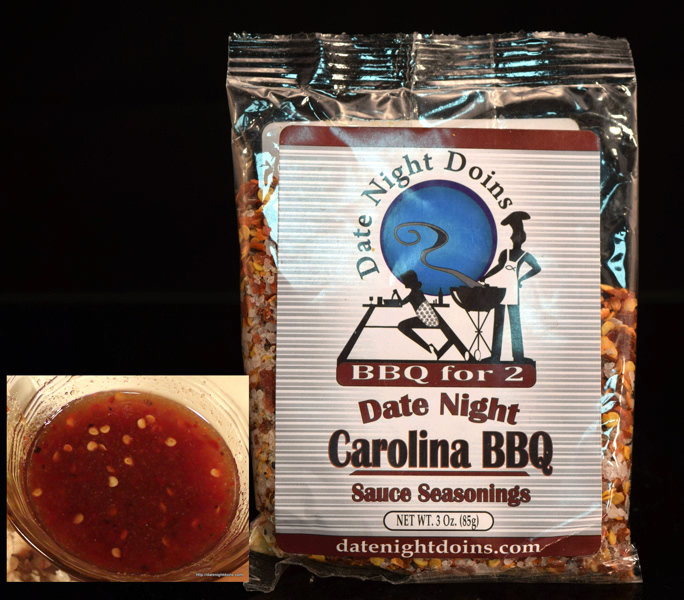Carolina BBQ Sauce Seasoning Packet (free shipping) carolinasaucepacket
