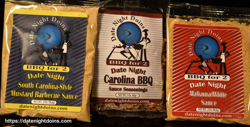 Date Night Doins Make your own Sauce Trio Pack