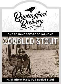 Cobbled Stout 4.1% BUNTBREW_COB