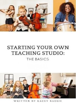 Book-Starting Your Own Teaching Studio