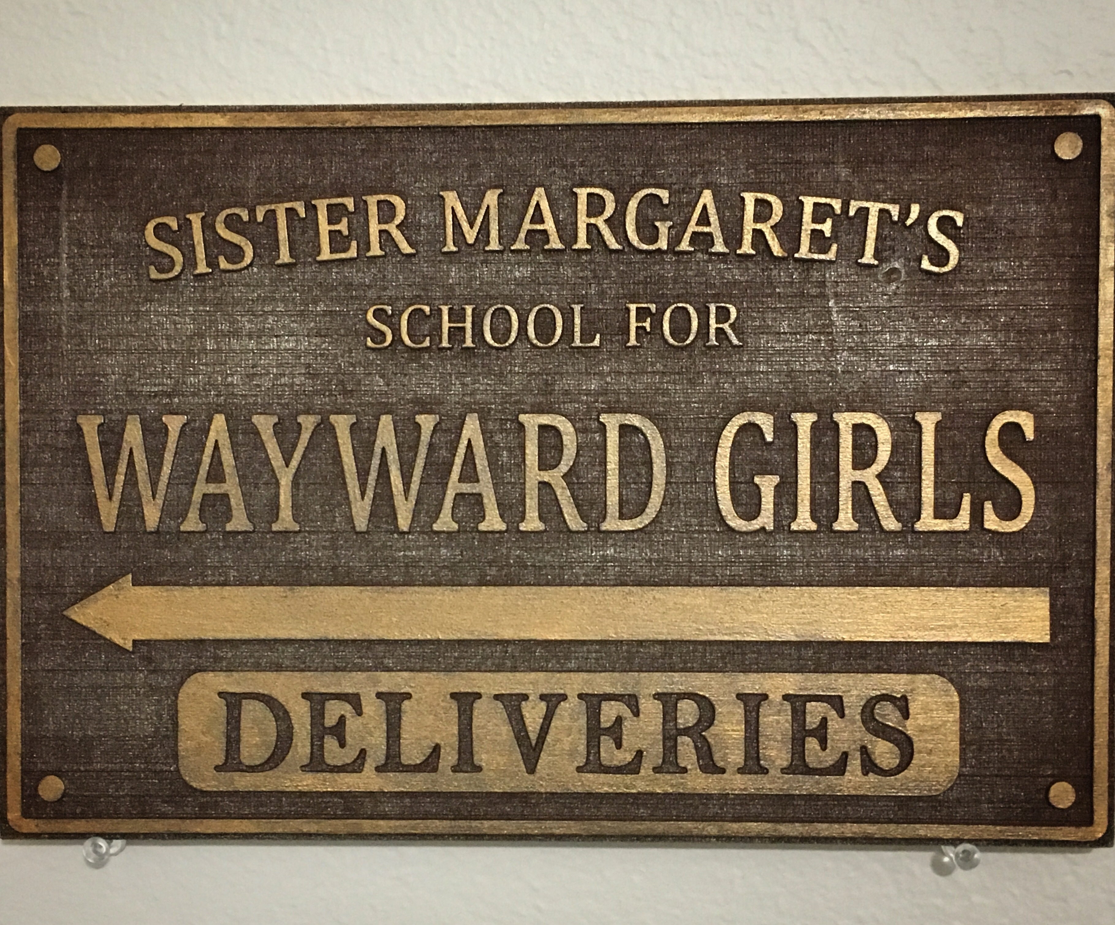 "8x12"" Sister Margaret's School sign Eng_SMSWG"