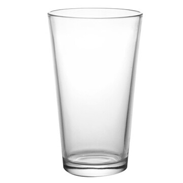 Etched 16oz pub glass
