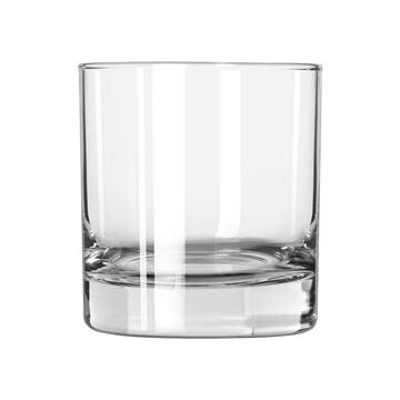 Etched 3oz rocks glass