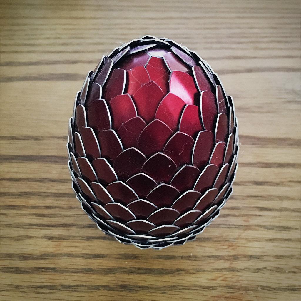Dragon Egg - Red DE009