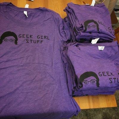 Geek Girl Stuff T-shirt