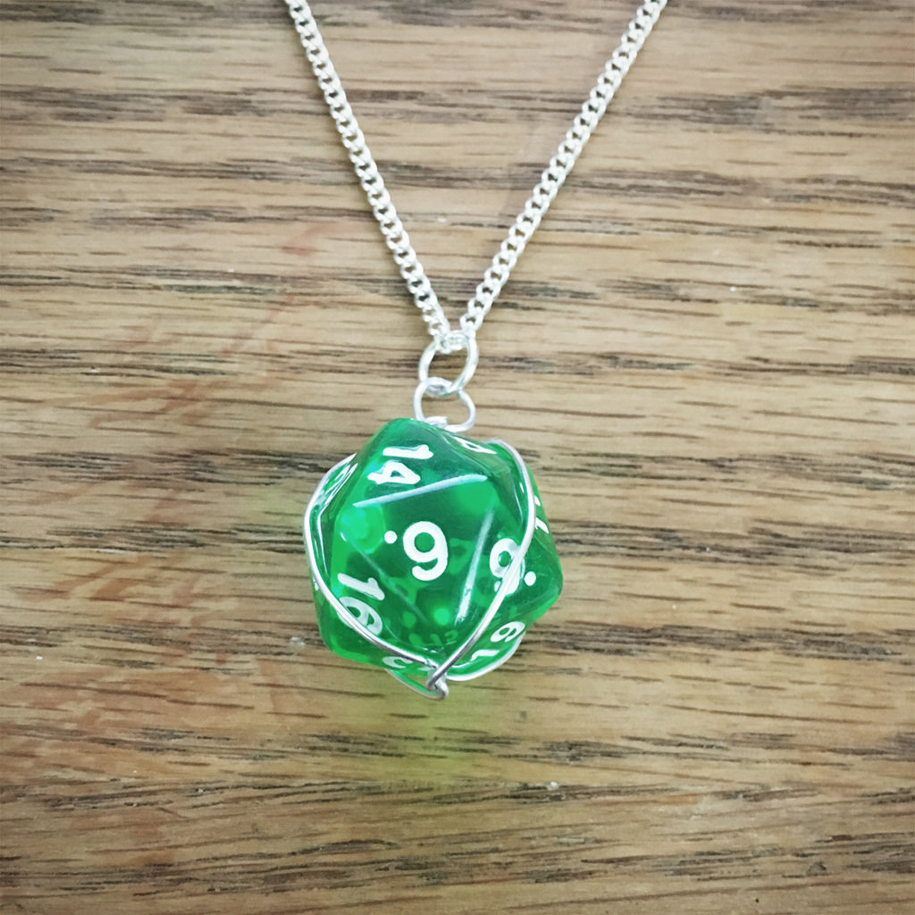 Dice Necklace DN006