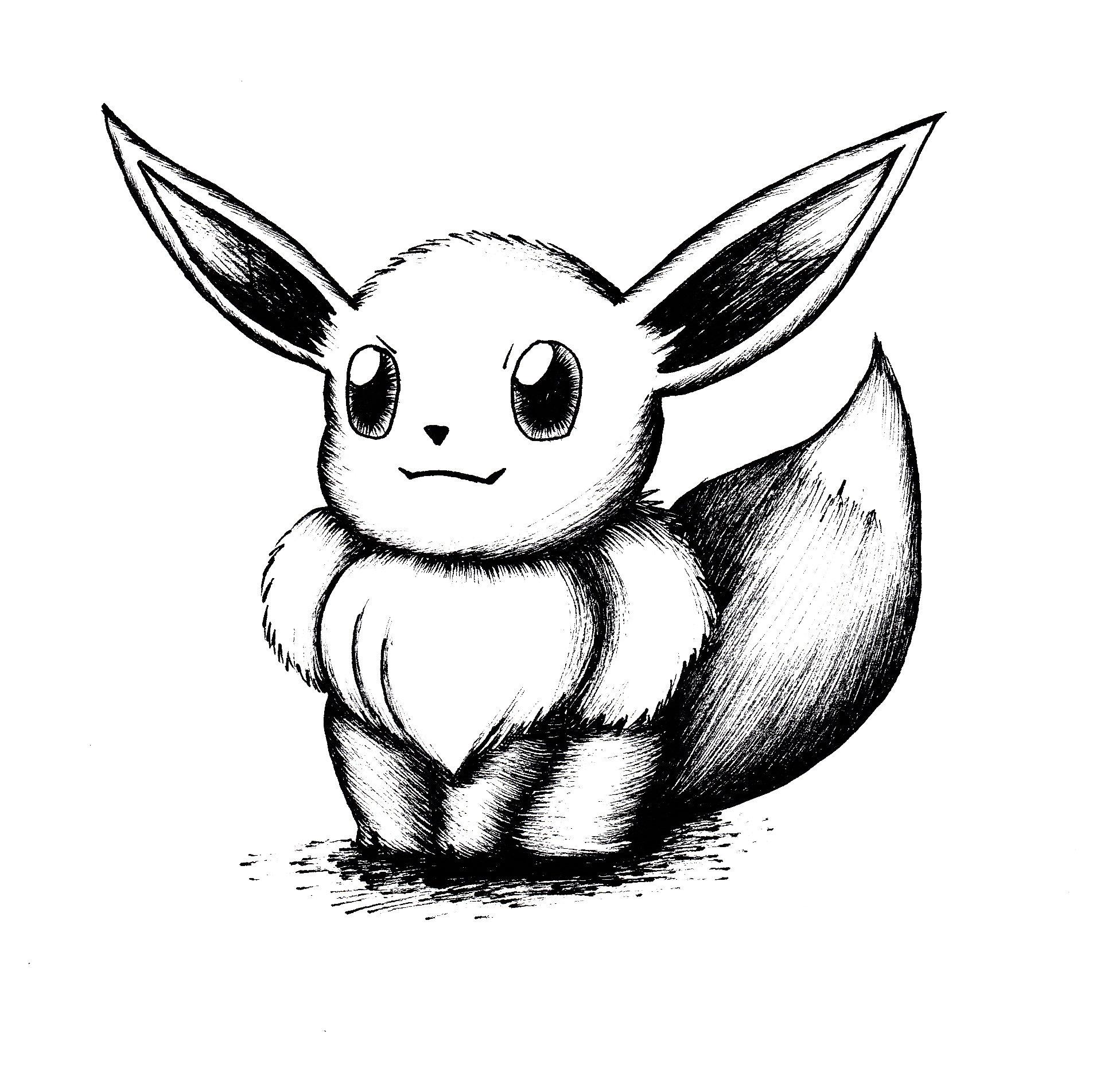 Evee drawing Draw013