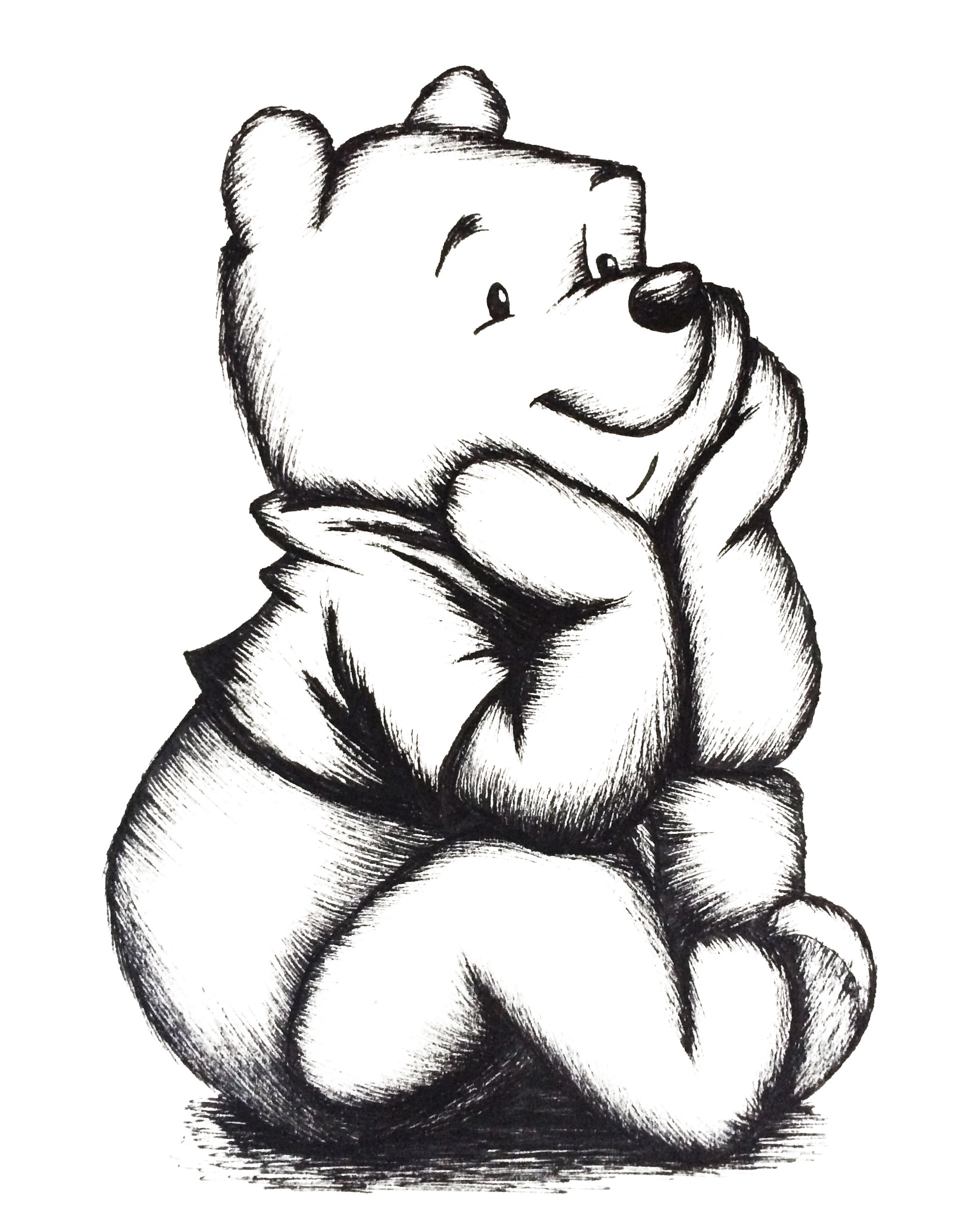 Bear drawing Draw032