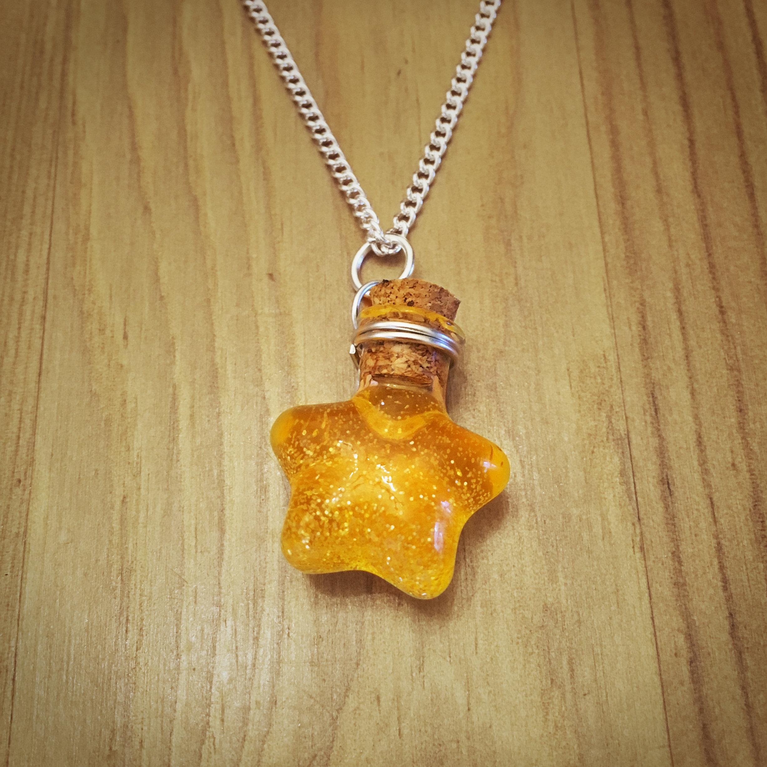 Potion Necklace - Star Potion003