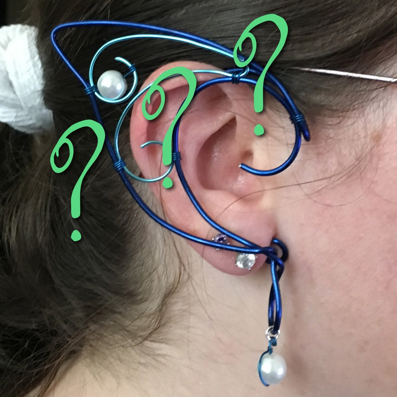 Build your own Elf Ear Cuffs