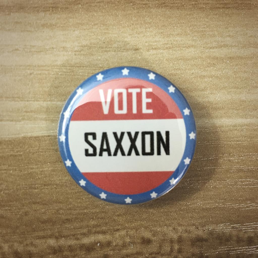 """1.25"""" Vote Saxxon button14"""