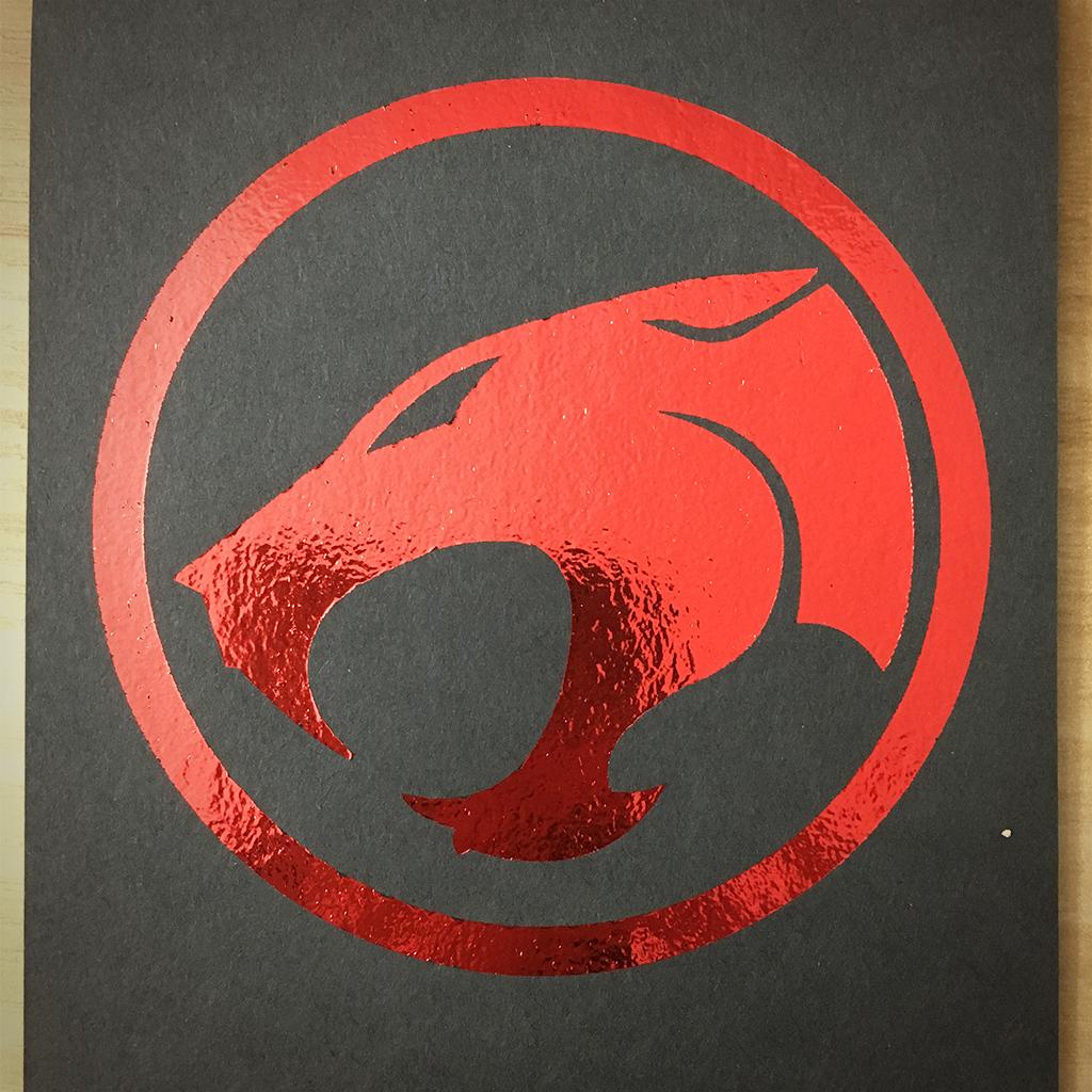 "4x6"" Thundercats holographic print artholo02"