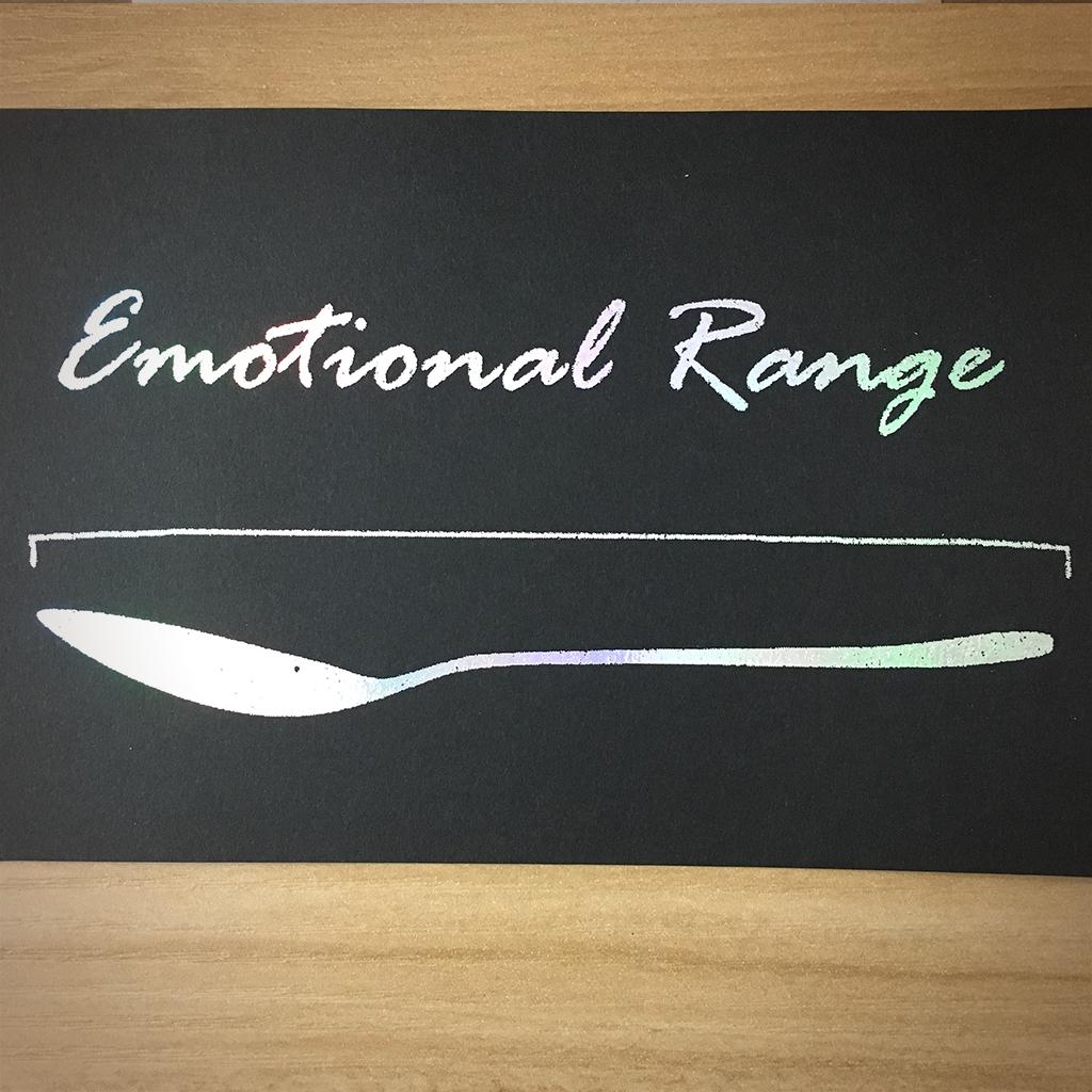 """4x6"""" Emotional range holographic print artholo07"""