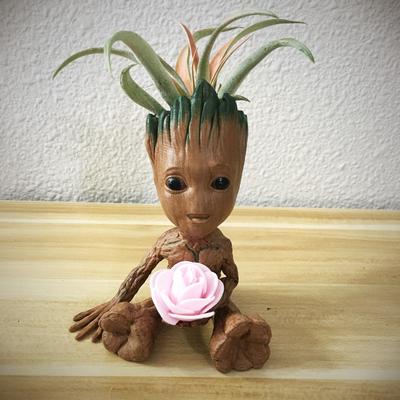 Cute Tree planter w/ flower