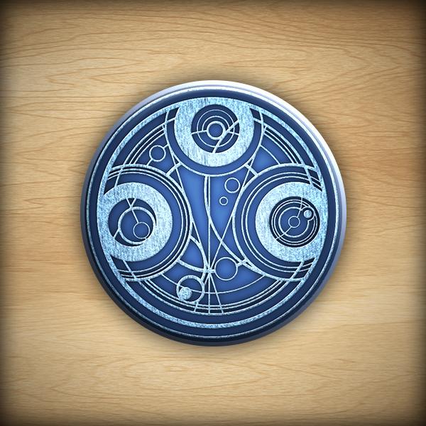 "1.25"" Gallifreyan button04"