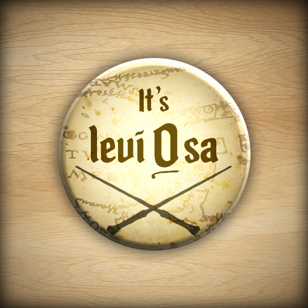 "1.25"" It's LeviOsa button08"