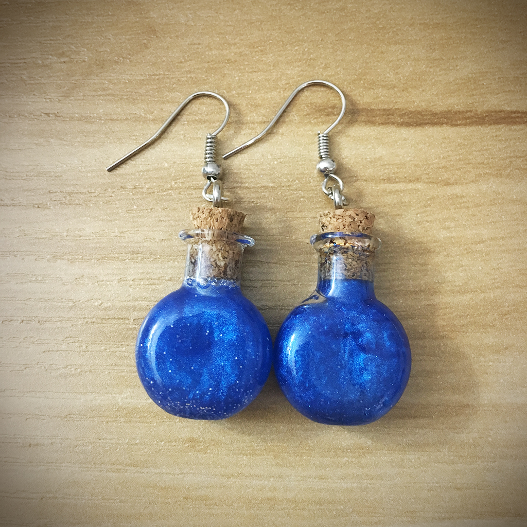 Potion Earrings - Round Potion006