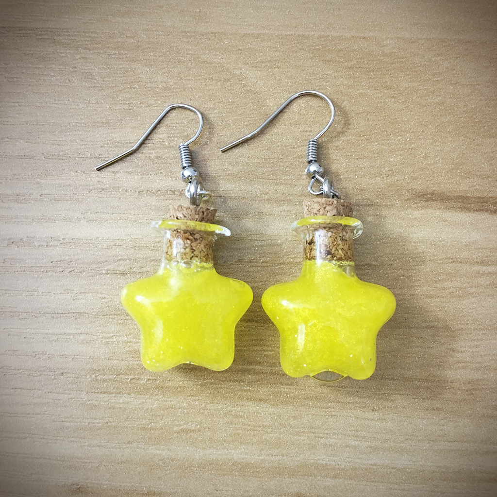 Potion Earrings - Star Potion007