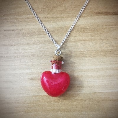 Potion Necklace - Heart