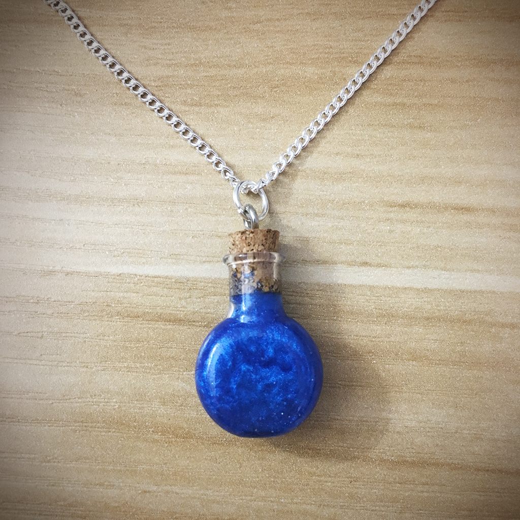 Potion Necklace - Round Potion002