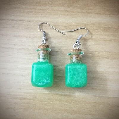 Potion Earrings - Square