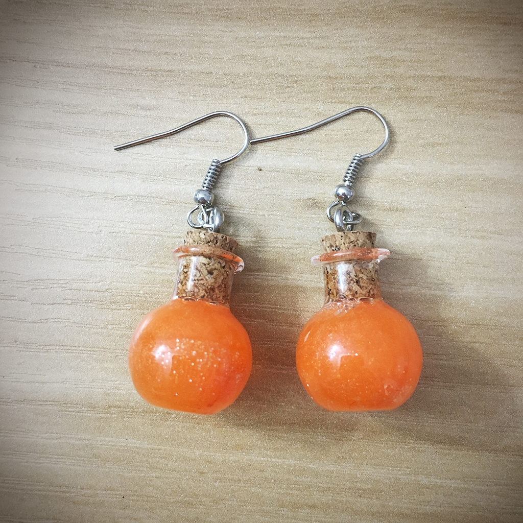 Potion Earrings - Sphere Potion010