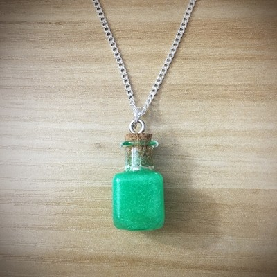 Potion Necklace - Square