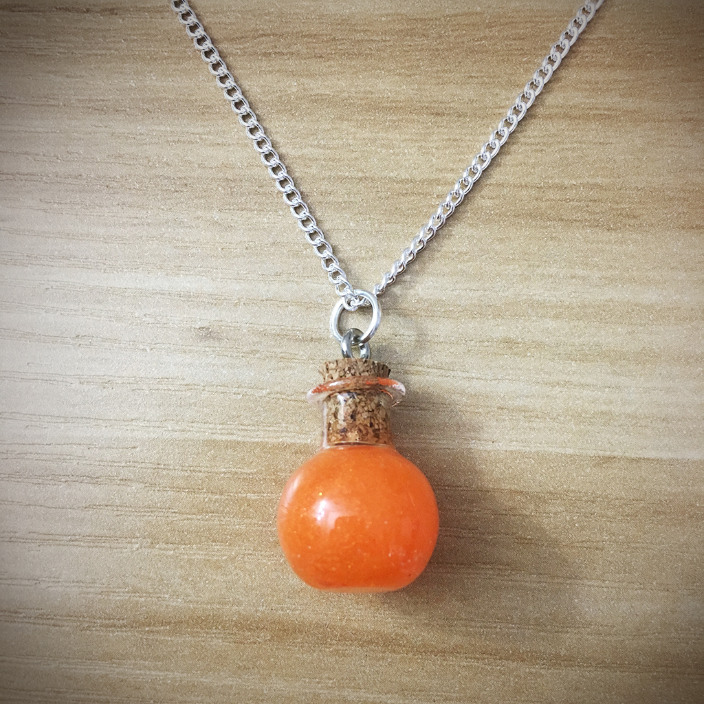 Potion Necklace - Sphere Potion012
