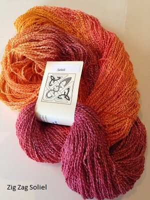 Zig Zag - Rayon yarn