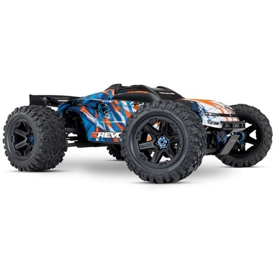 Traxxas E-Revo 4WD Brushless Electric Racing Monster Truck (VXL-6S/TQi/No Batt/No Chg) C-TRX86086-4