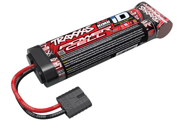 Traxxas Battery, Series 3 Power Cell ID, 3300mAh (NiMH, 8.4V flat)