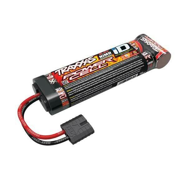 Traxxas Battery, Power Cell ID, 3000mAh (NiMH, 8.4V flat)