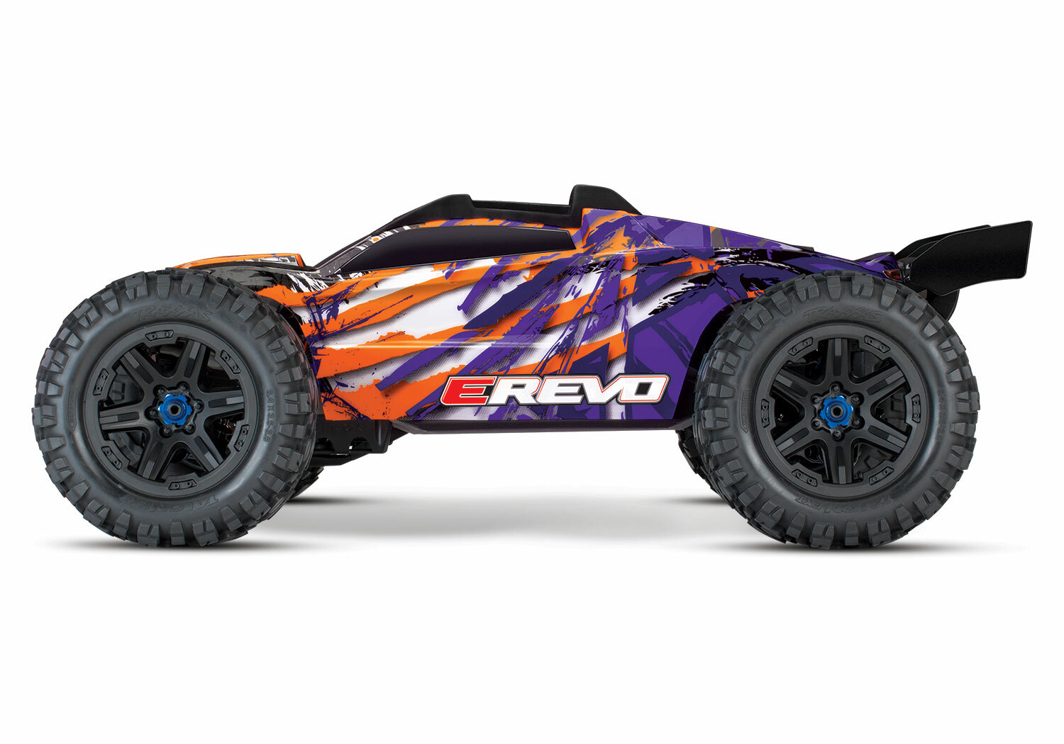 Traxxas E-Revo 4WD Brushless Electric Racing Monster Truck (VXL-6S/TQi/No Batt/No Chg)