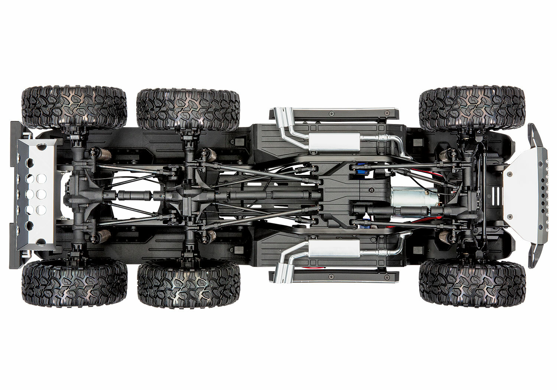 Traxxas TRX-6 Mercedes-Benz G 63 AMG 6x6 (XL-5HV, TQi, LED Lights) (No Battery or Charger)