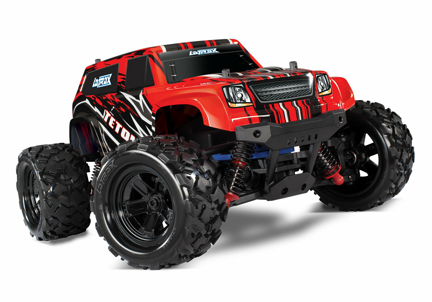 LaTrax Teton 1/18 4WD (2.4GHz/7.2V/DC Charger) Powered by Traxxas
