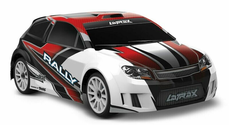 LaTrax Rally 1/18 4WD (2.4GHz/6.0V/DC Charger) Powered by Traxxas
