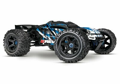Traxxas E Revo 2.0 4WD Brushless Electric Racing Monster Truck (VXL-6S/TQi/No Batt/No Chg) C-TRX86086-4