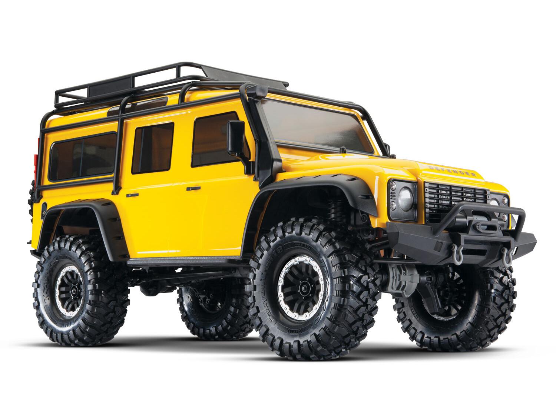 TRX-4 Crawler Land Rover Defender 110 (TQi/No Batt/No Chg) - Special Edition Yellow