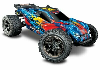 The all-new Traxxas Rustler® 4X4 VXL (TQi/No Batt or Charger) TRX67076-4