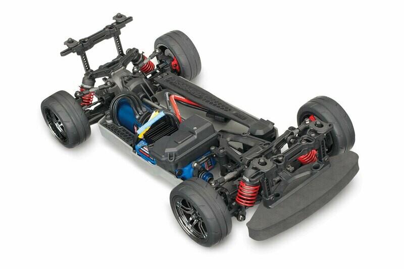 Traxxas 4-Tec 2.0 VXL-3S AWD Chassis Only (TQi/No Batt/No Chg)