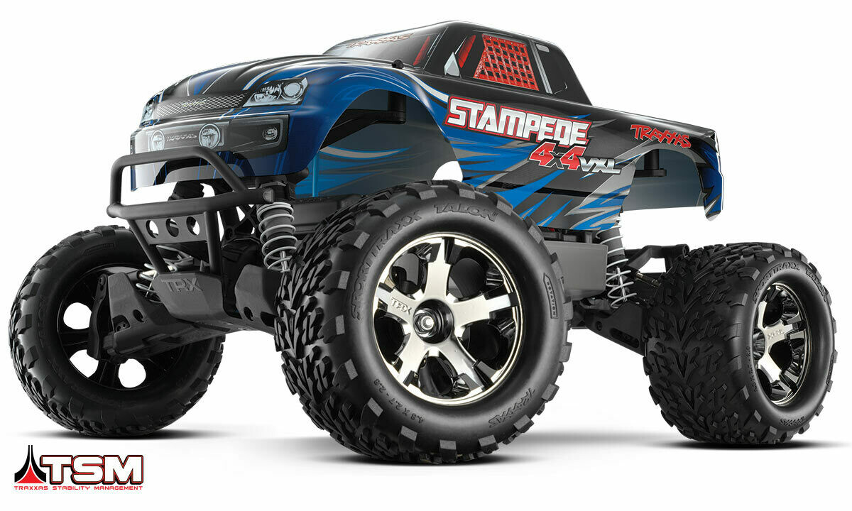 Traxxas Stampede VXL Brushless 4WD TSM (TQi/No Batt or Chg)