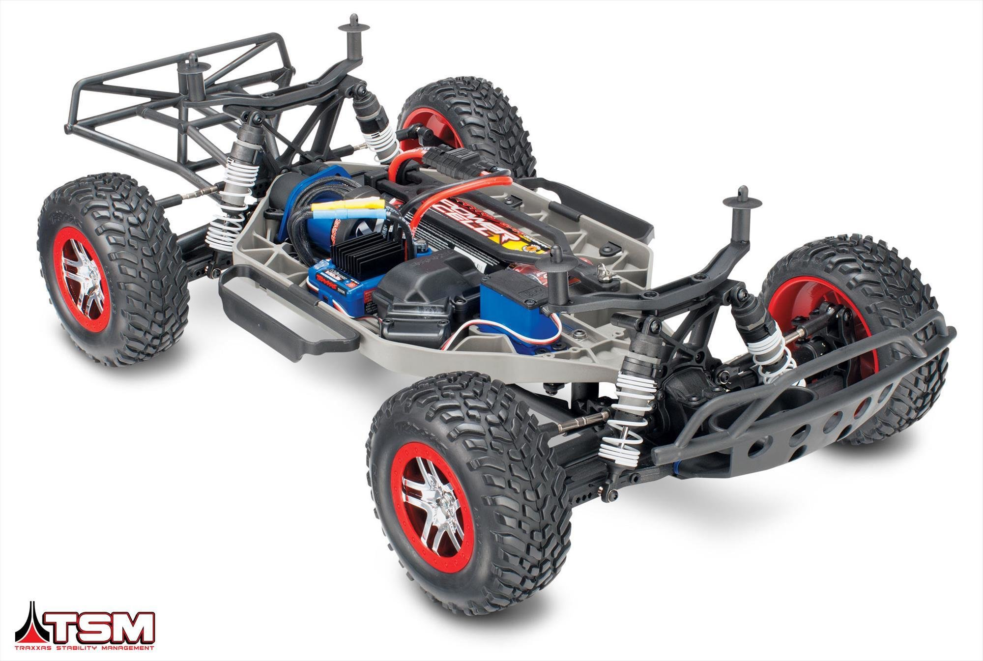The Traxxas Slash defines the Short Course truck segment and sets the standard for durability performance and technology Innovative features like Traxxas