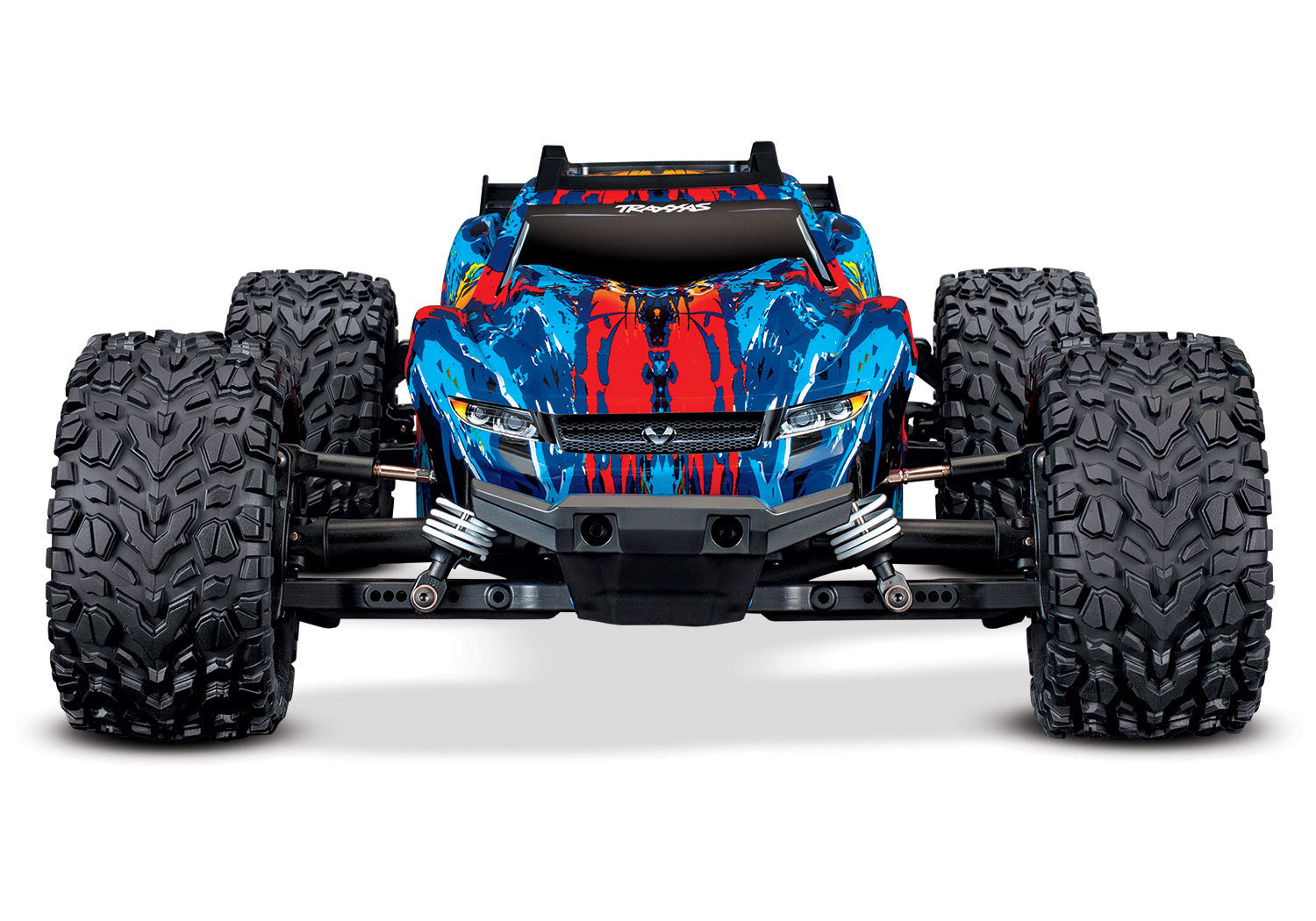 The all-new Traxxas Rustler® 4X4 VXL (TQi/No Batt or Charger)