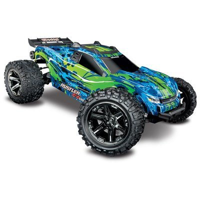 The all-new Traxxas Rustler® 4X4 VXL (TQi/No Batt or Charger) C-TRX67076-4