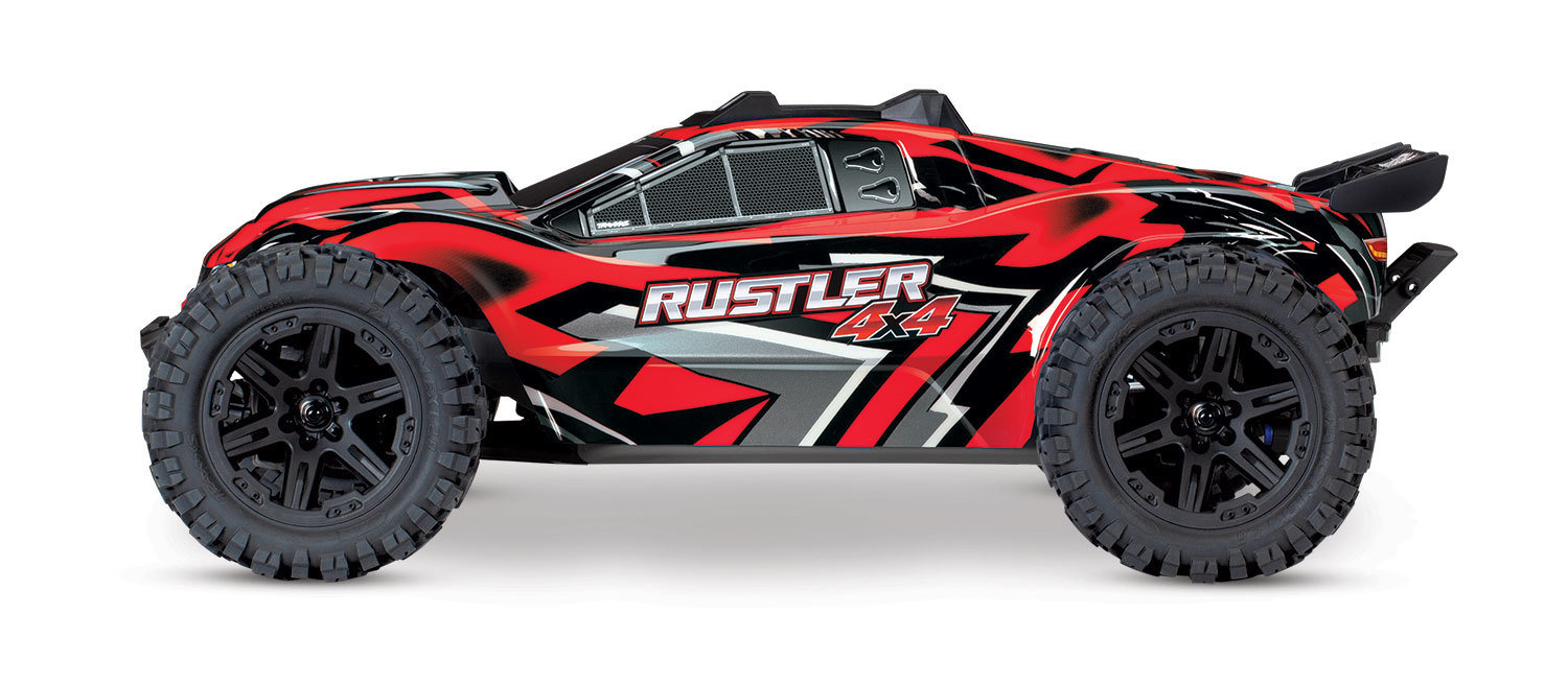 Traxxas Rustler 4X4 XL-5, 1/10 Stadium Truck (TQ/No Batt or Charger)