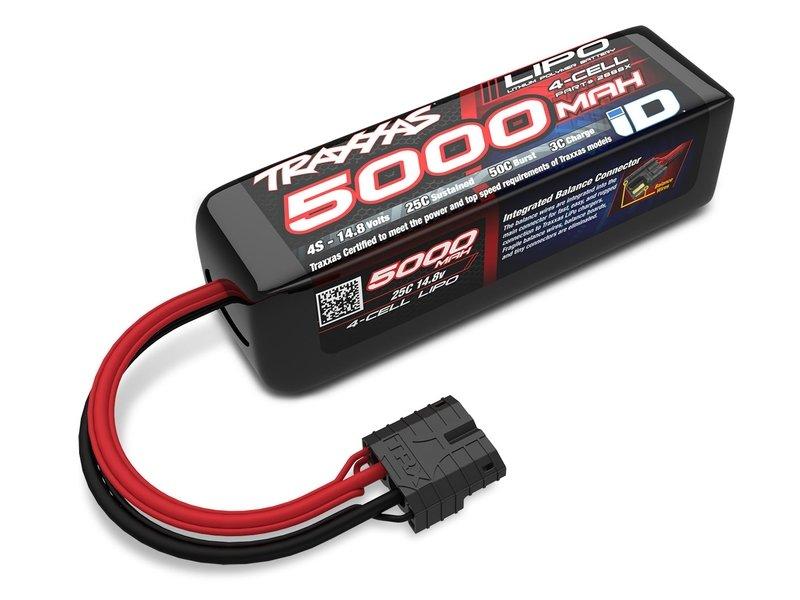 Traxxas 5000mAh 14.8V 25C Li-Po ID Battery (135x42x45mm)