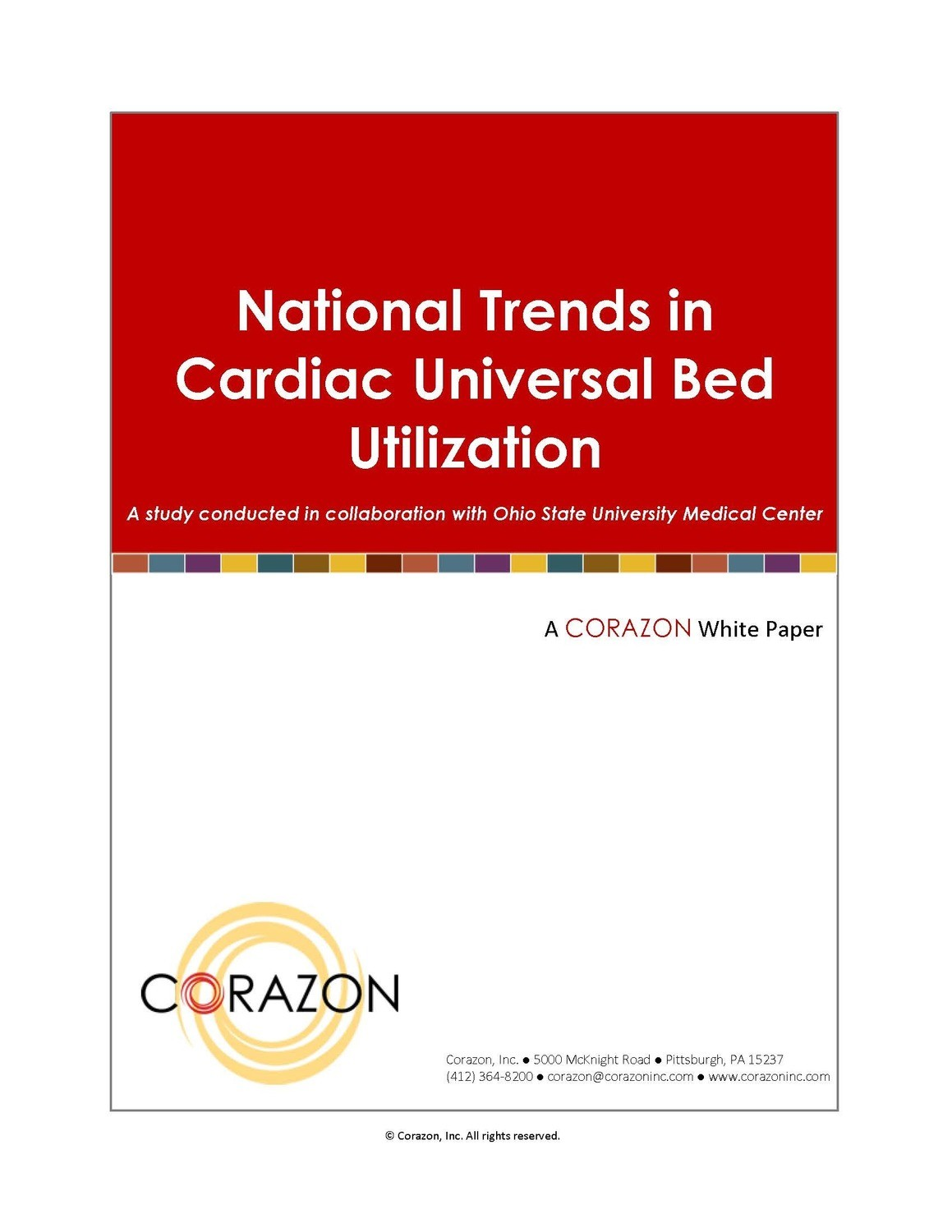 National Trends in Cardiac Universal Bed Utilization