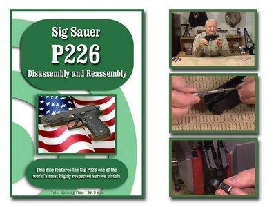 Sig Sauer P226 semi-auto pistol